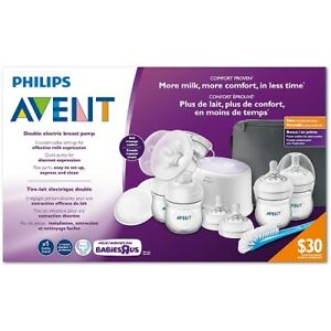 Philips Avent Double Electric Breast Pump with Breastfeeding Acc