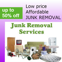 Discount junk removal =  1 877 999 9773