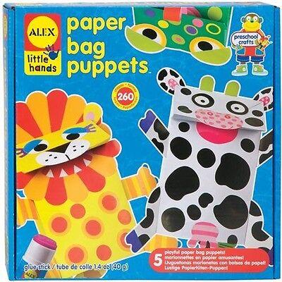 Alex Toys Paper Bag Puppets Kit   234787
