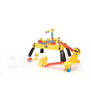 Mega Bloks Caterpillar construction site