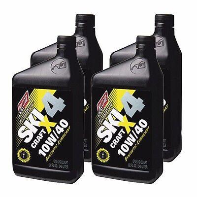 Klotz Ski Craft X4 TechniPlate Oil - 10W-40 Oil - 32oz - 4 Quarts / 1 Gallon