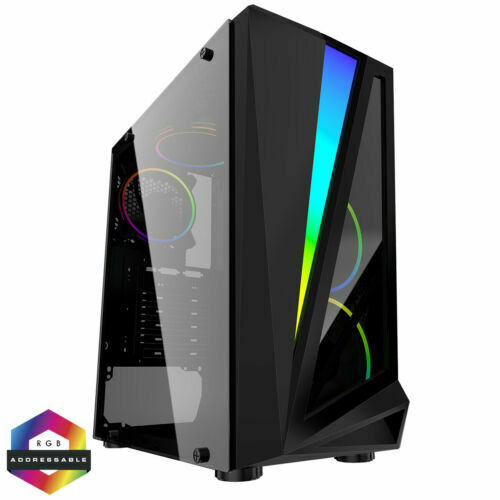 Computer Games - Fast Gaming PC Computer Bundle  Quad Core i5 8GB 1TB Win10 2GB GT710 Speaker