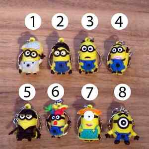 despicable-me-minion-keyring-minion-key-ring-keychain-key-chain-FREE-DELIVERY-UK