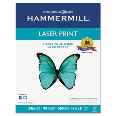 Hammermill 104604 Laser Print Office Paper 98 Brightness 24lb 8-12 X 11