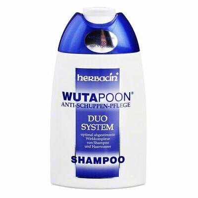 Herbacin WutaPoon dandruff shampoo 200ml FREE SHIPPING