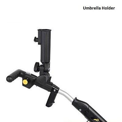 Deluxe Umbrella Holder For Powakaddy Freeway & Classic Golf Trolleys