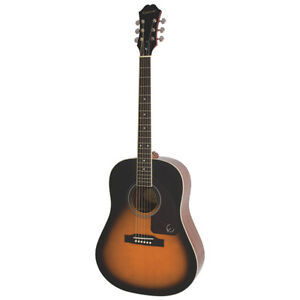 Epiphone AJ220S Acoustic Guitar - Vintage Sunburst, New