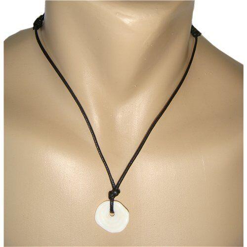 Rare Handmade Large Single Puka Shell Hawaiian Necklace