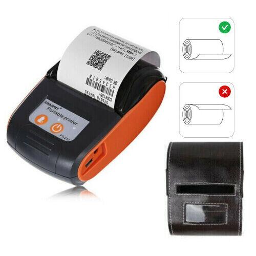 Portable Bluetooth Thermal Label Printer 58mm Wireless POS Receipt Handheld