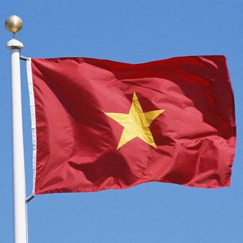 3x5 ft NORTH VIETNAM VIETNAMESE NVA FLAG better quality usa seller