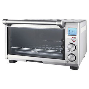 Breville BOV650XL Compact Smart Oven 1800-Watt Toaster Oven with
