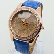 Womens Watches Leather Crystal