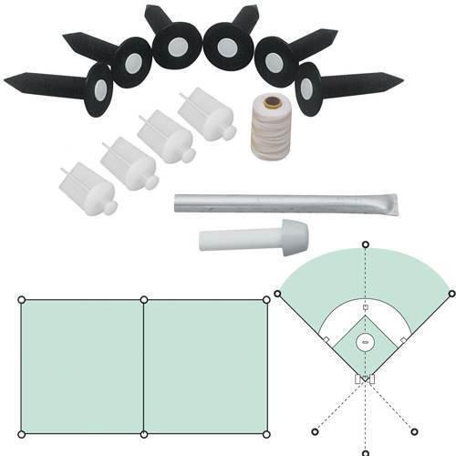 Field Lining Package (BLP-6) - 6 Sockets w/white plugs & accessories