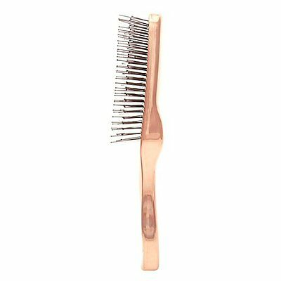 S-Heart-s Scalp Brush Pink Gold Universal Model Long type from Japan F/S