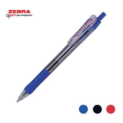 Wholesale 40 Pcs Zebra Tapli Clip Ball Point Pen 1.6mm Bnu5 Blue Japan