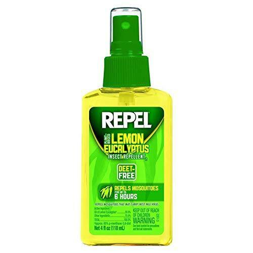Repel insect mosquitoes lemon eucalyptus repellent camping hiking spray