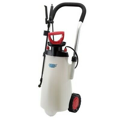 Draper Expert t82583 15 ltr EPDM Trolley Pump Sprayer Spot Weed Killer Sprayer