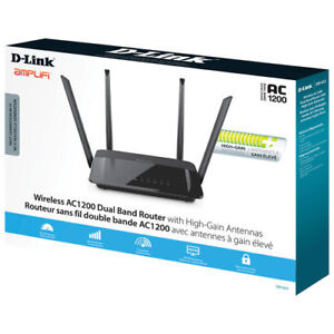 Wireless AC1200 Dual Band Router - D-Link