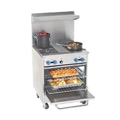 Comstock Castle F326-1.5rb 30 Gas Restaurant Range With Iron Radiants