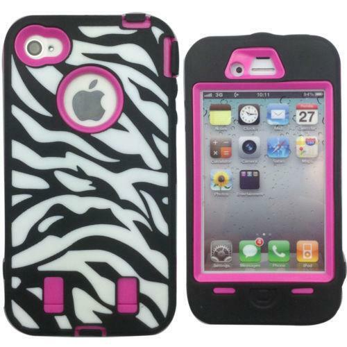 Pink zebra iphone 4 case ebay - Pink zebra wallpaper for iphone ...