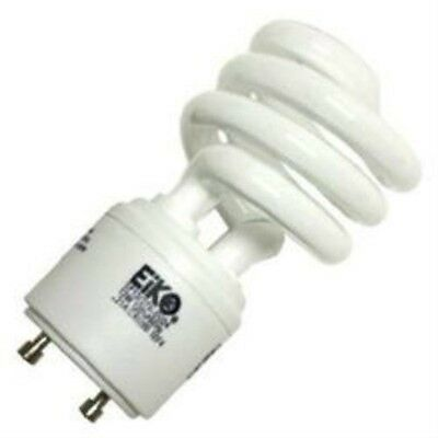 New 13W CFL Mini Spiral GU24 Base 2700K Soft White =60W Fluorescent Light Bulb