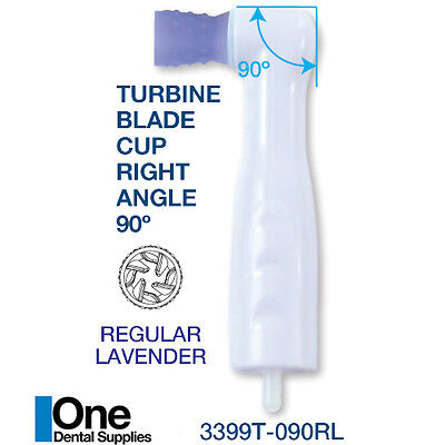 Dental Disposable Turbine Blade Cups Prophy Angles Regular 90 Latex Free 100pcs