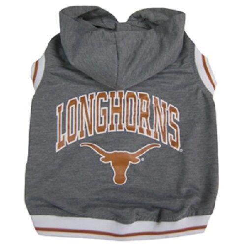 Texas Longhorns NCAA Dog Sleeveless Hoodie Tee (all sizes)