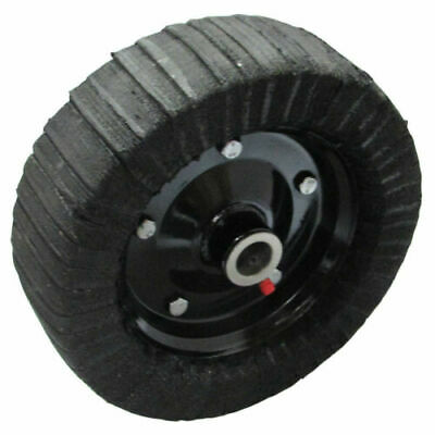 10 X 3.25 Finish Mower Wheel-solid Molded Tire - Fits 1 Axle