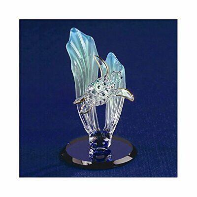 Sea Turtle Glass Figurine