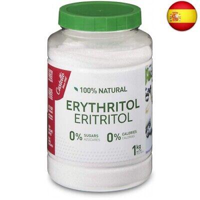 Castelló Since 1907 Edulcorante Eritritol - Bote de 1 kg