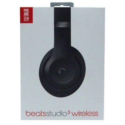Beats Studio3 Noise Canceling Wireless Bluetooth Headphones - Matte Black