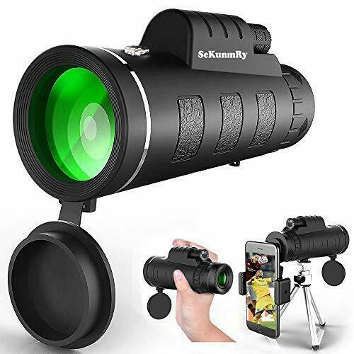 12x50 HD Monocular Telescope Phone Camera Zoom Starscope Hiking Hunting Tripod