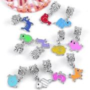 European Enamel Dangle Charms