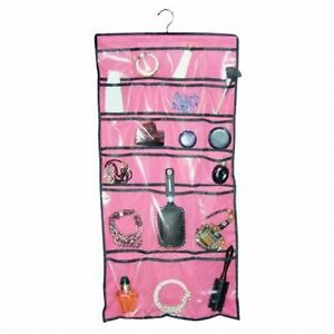 Hanging Jewelry Organizer Accessory Makeup Beauty Supplies 22-Pocket Closet