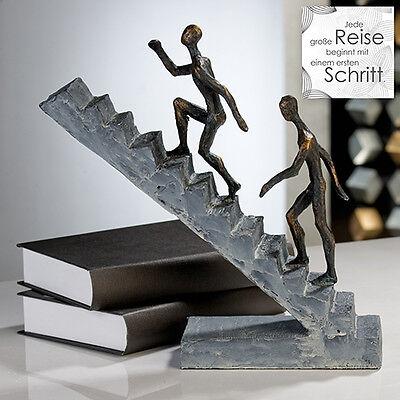 "Casablanca Design Skulptur ""Staircase""   Art. 79126  broncefinish Karriere Job"