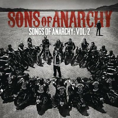 Sons Of Anarchy Cd Soundtrack   Songs Of Anarchy  Vol 2  2012    New Unopened