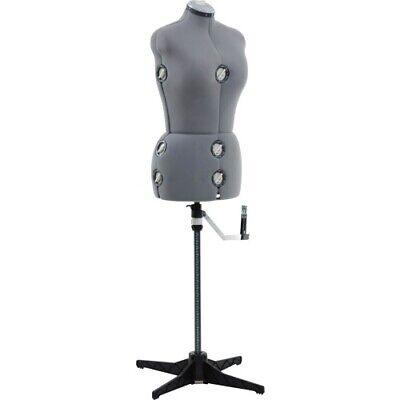 Singer Mediumlarge Dress Form Grey