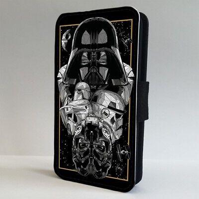 Star Wars Darth Vader Storm Trooper FLIP PHONE CASE COVER for IPHONE SAMSUNG
