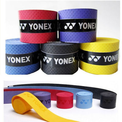 10 pcs Absorb sweat stretchy Badminton Tennis Squash Racquet Band Grip Tape cdj