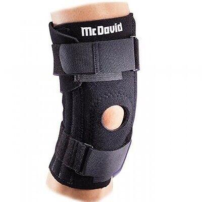 McDavid Adjustable Patella Knee Support 420T Black One Size Fits Most Knee Brace