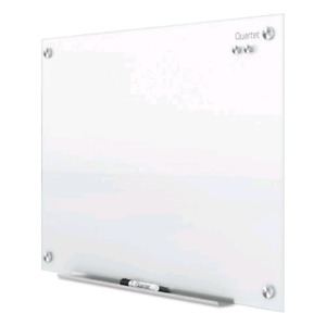 Quartet Infinity Magnetic Glass Dry Erase Board, White, 6 X 4 Fe