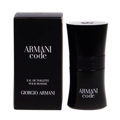 ARMANI CODE POUR HOMME 30ML EAU DE TOILETTE SPRAY BRAND NEW & SEALED FOR HIM