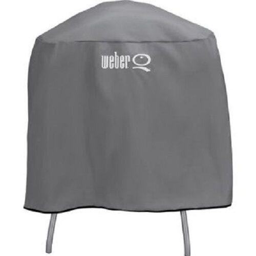 Weber Q Full Length Vinyl Factory Cover Q Series Grill on Ca