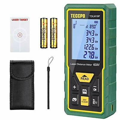 Original Laser Distance Measure 196 Feet Minft Digital Lazer Meter Range Tool