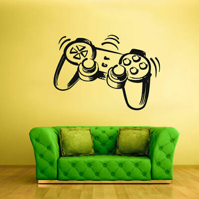 Wall Decal Vinyl Sticker Decals Time Xbox 360 Ps3 Game Ps2 Controller (Z2012), used for sale  Shipping to India