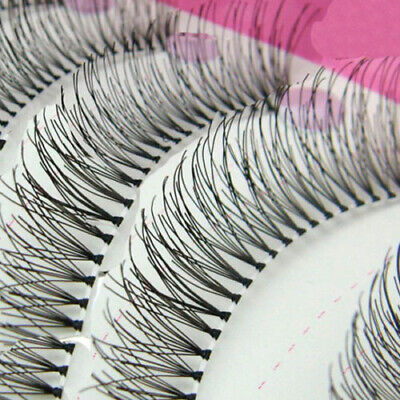 10Pairs Natural Thick Long False Eyelashes Fake Eye Lashes Voluminous Makeup New Eyes