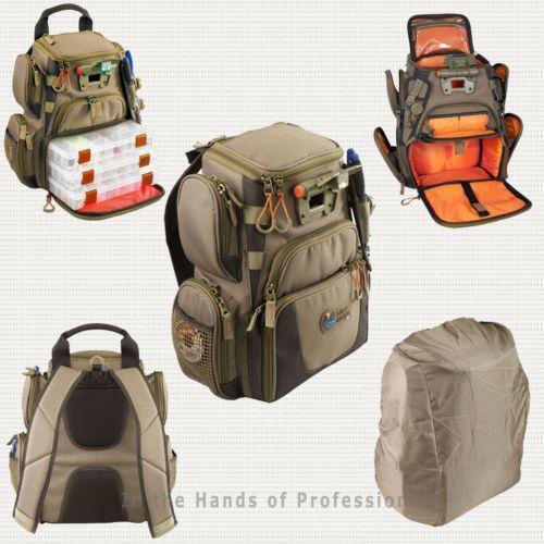 Fishing tackle backpack ebay for Fishing tackle box backpack