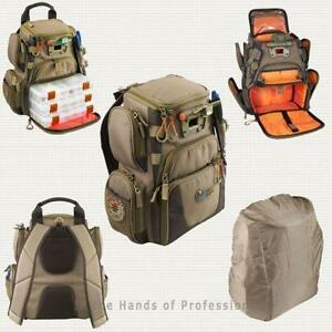 Fishing backpack ebay for Fishing backpack with rod holder