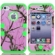 Hybrid Hard Case Cover Skin for iPhone 4