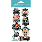 Vacation & Travel Dimensional Scrapbooking Stickers
